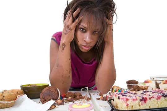emotional-eating girl